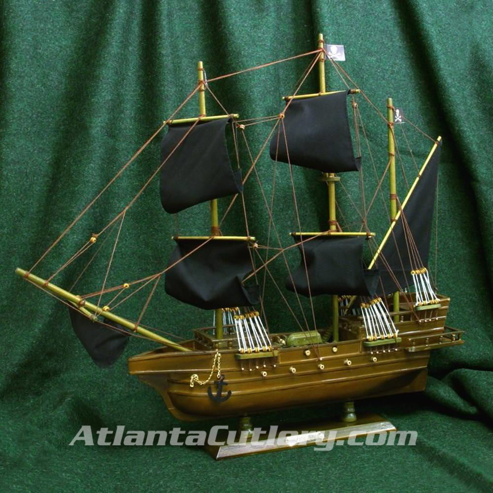 Picture of Pirate Ship Wooden Model