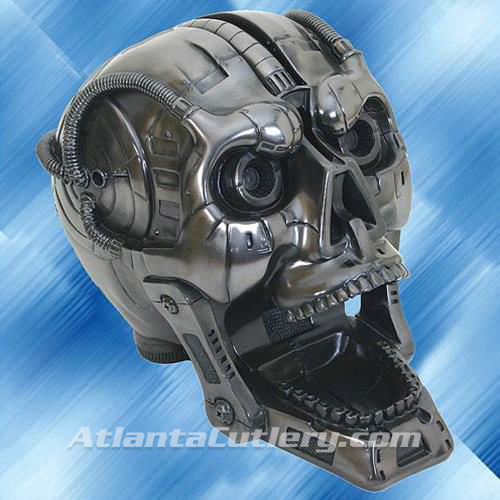 Picture of Cyborg Skull Bank