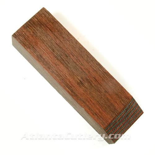 Picture of Charcoal Ruby Diamondwood Block