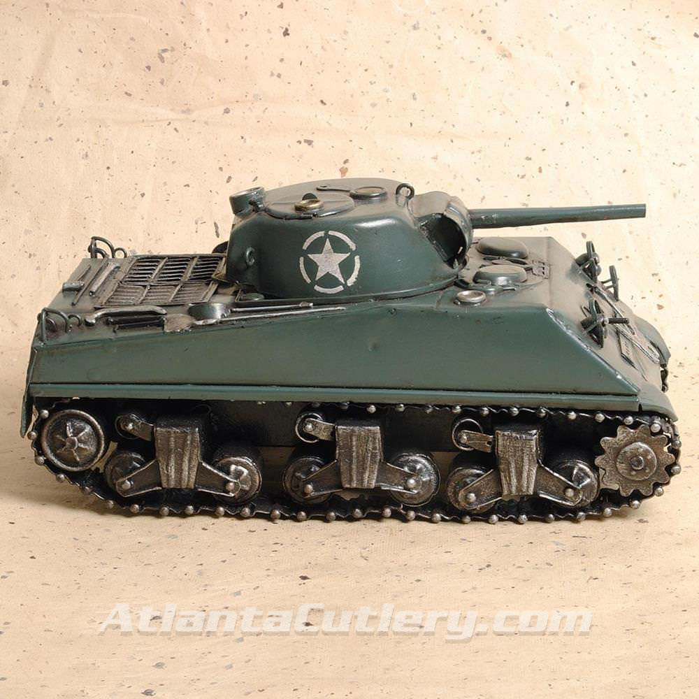 Picture of M4 Sherman Tank Tin Model