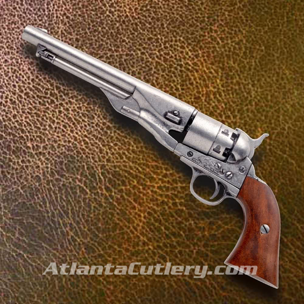 Picture of 1860 Army Civil War Revolver - Pewter Finish