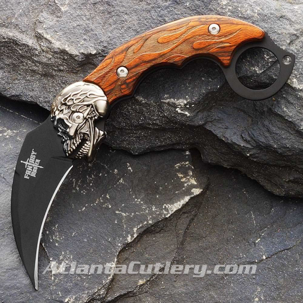 Picture of Fire Skull Karambit