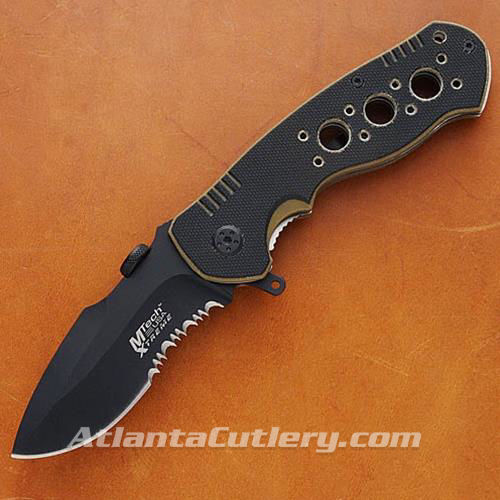 Picture of Spearpoint Tactical Black & Tan Folder