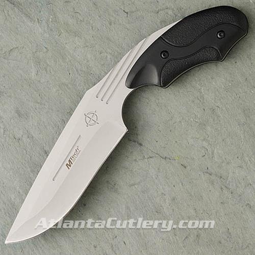 Picture of Pistol Grip Edge Black Plastic Scales