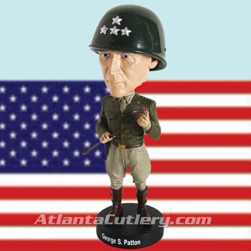Picture of General George S. Patton, Jr. Bobblehead