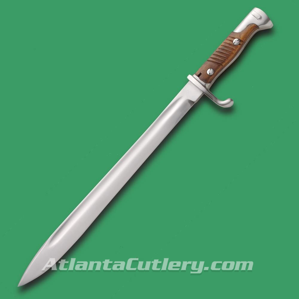 8 Butcher Blade Natural Finish Bayonet
