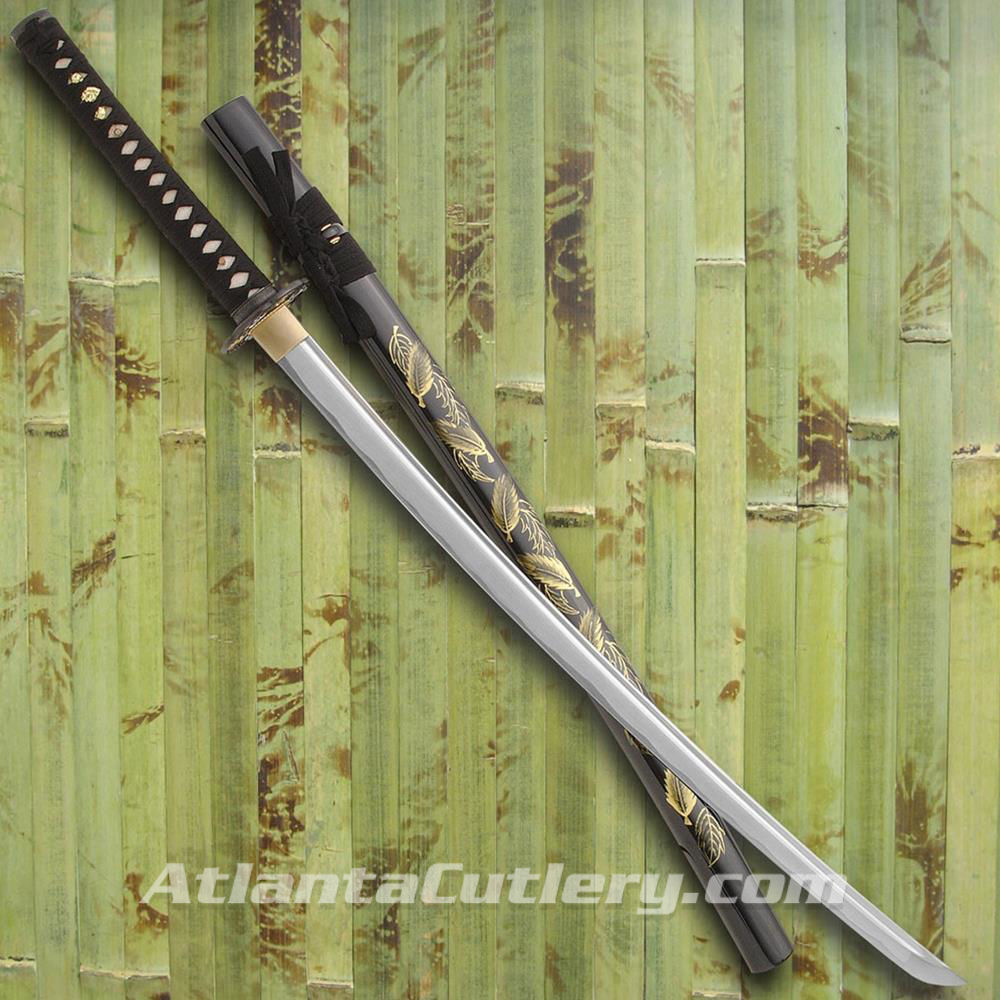 Picture of Golden Leaf Katana
