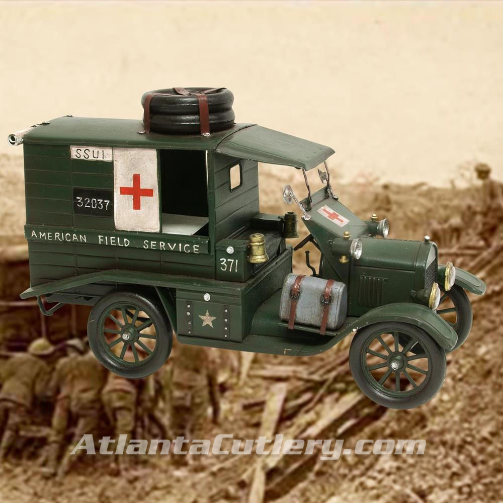 Picture of WWI US Medical Service Vehicle