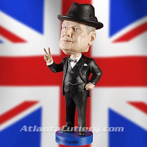Picture of S. Winston Churchill Bobblehead