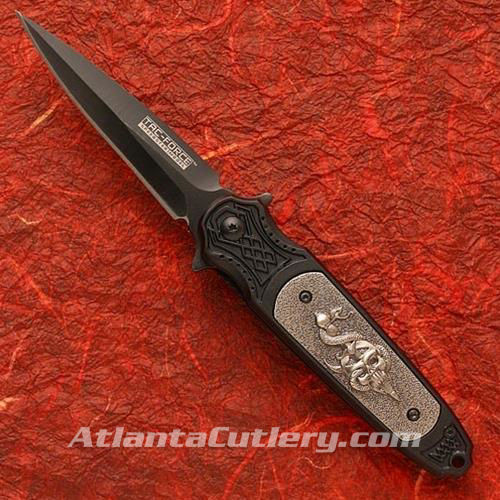 Picture of Tac-Force Skull with Dagger & Snake Fantasy Folder