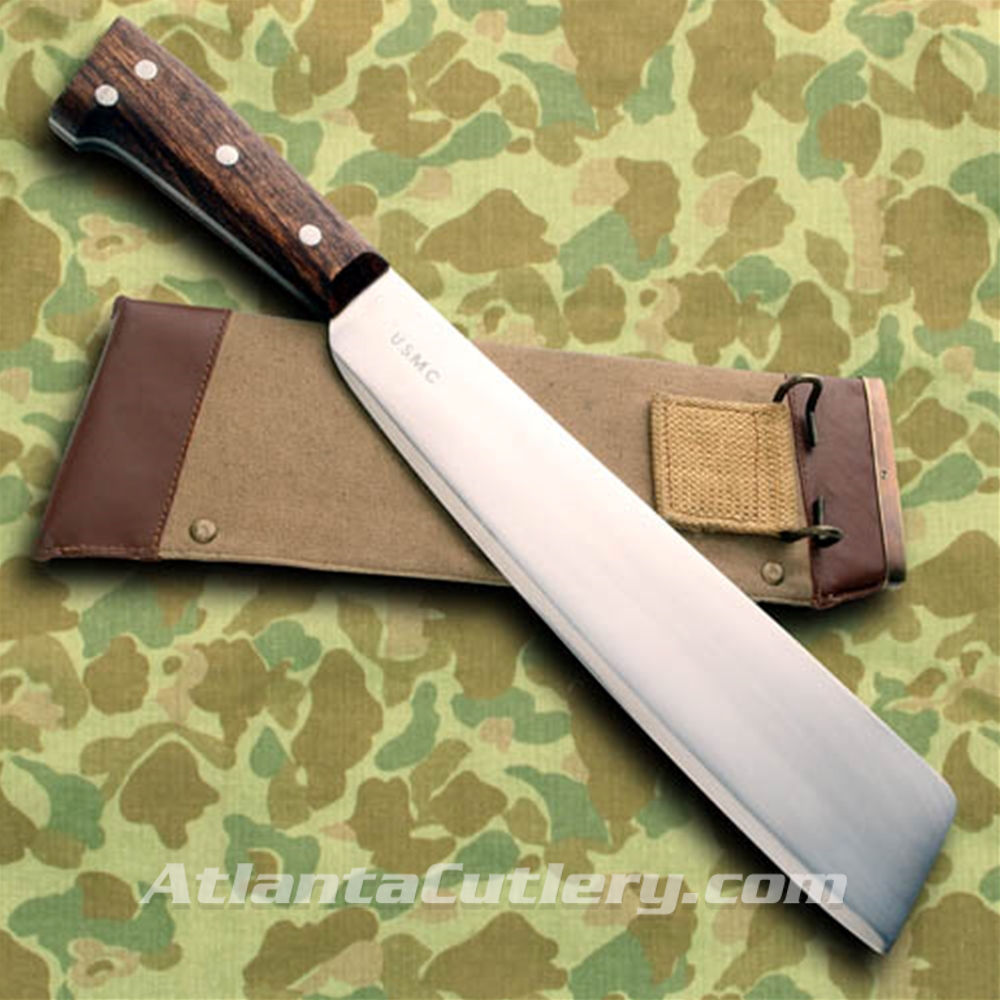 US WWII Square Tip Machete