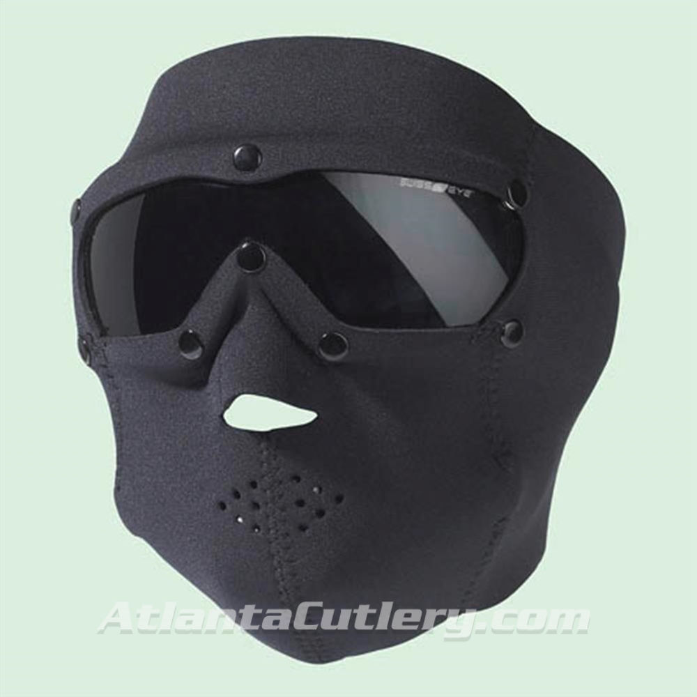 Picture of Swiss Eye SWAT Mask Black with Smoke Lens