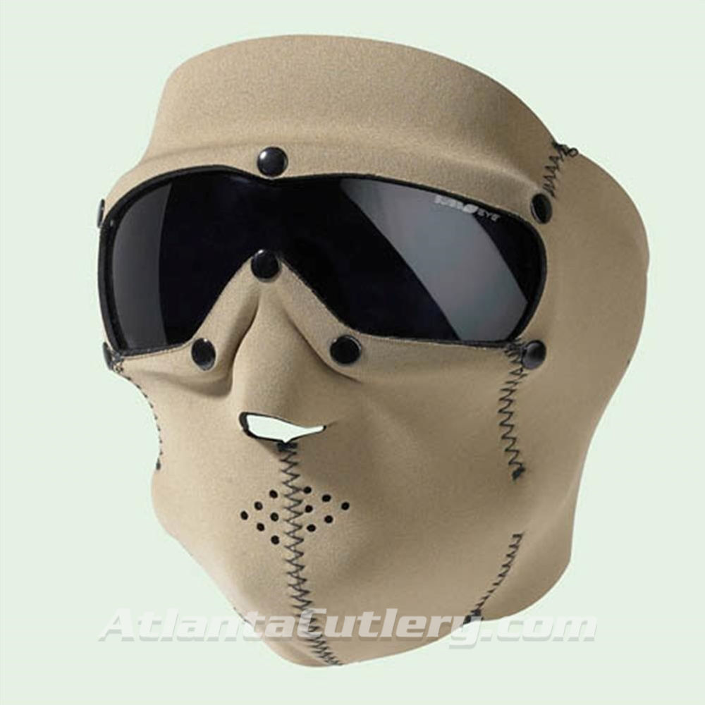 Picture of Swiss Eye SWAT Mask Coyote with Smoke Lens