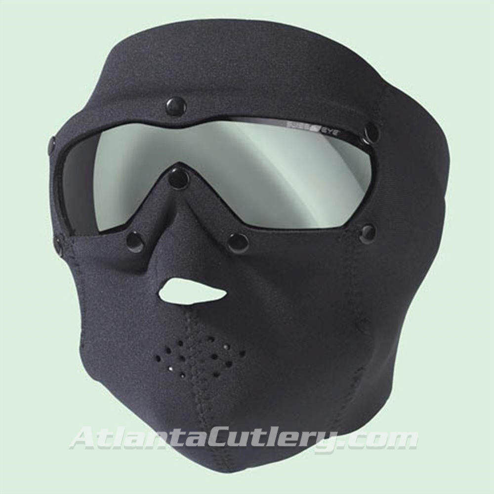 Picture of Swiss Eye SWAT Mask Black with Clear Lens