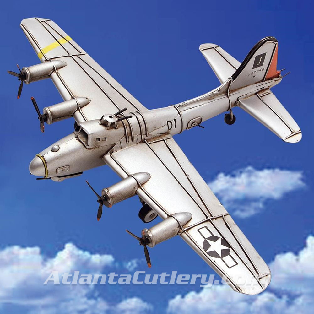 Picture of B-17 Flying Fortress Old Fashioned Tin Model