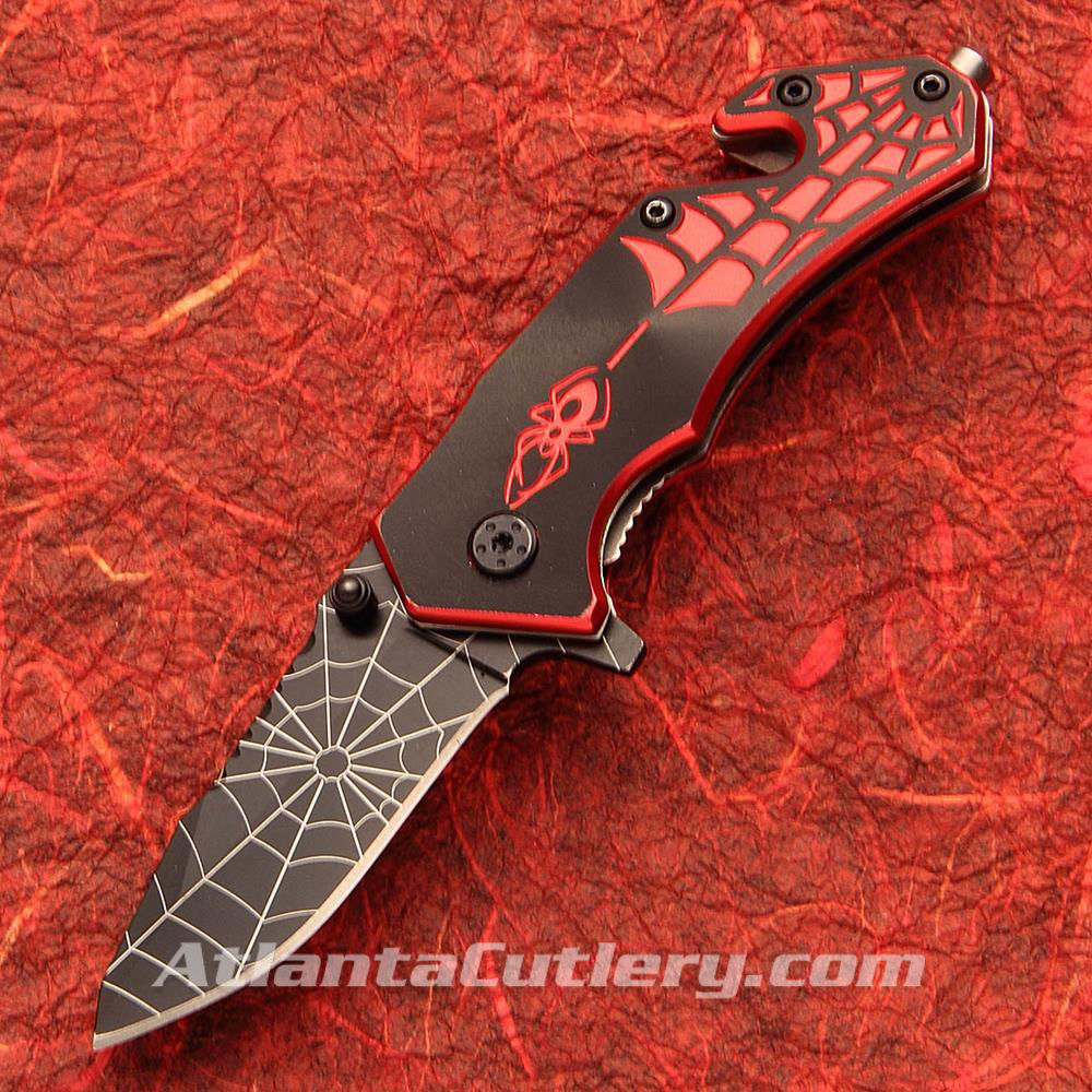 Picture of Red Spidey Knife