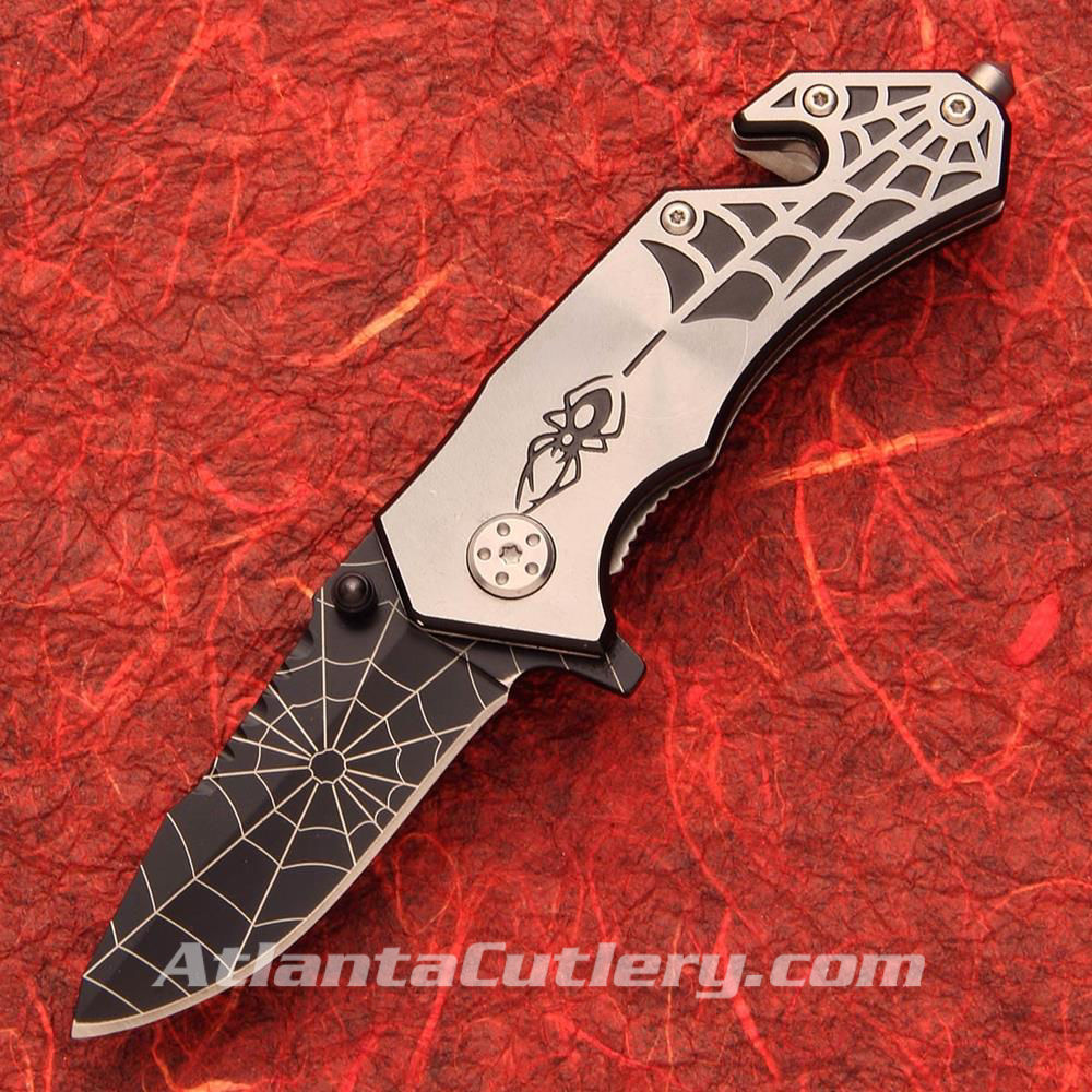 Picture of Silver Spidey Knife