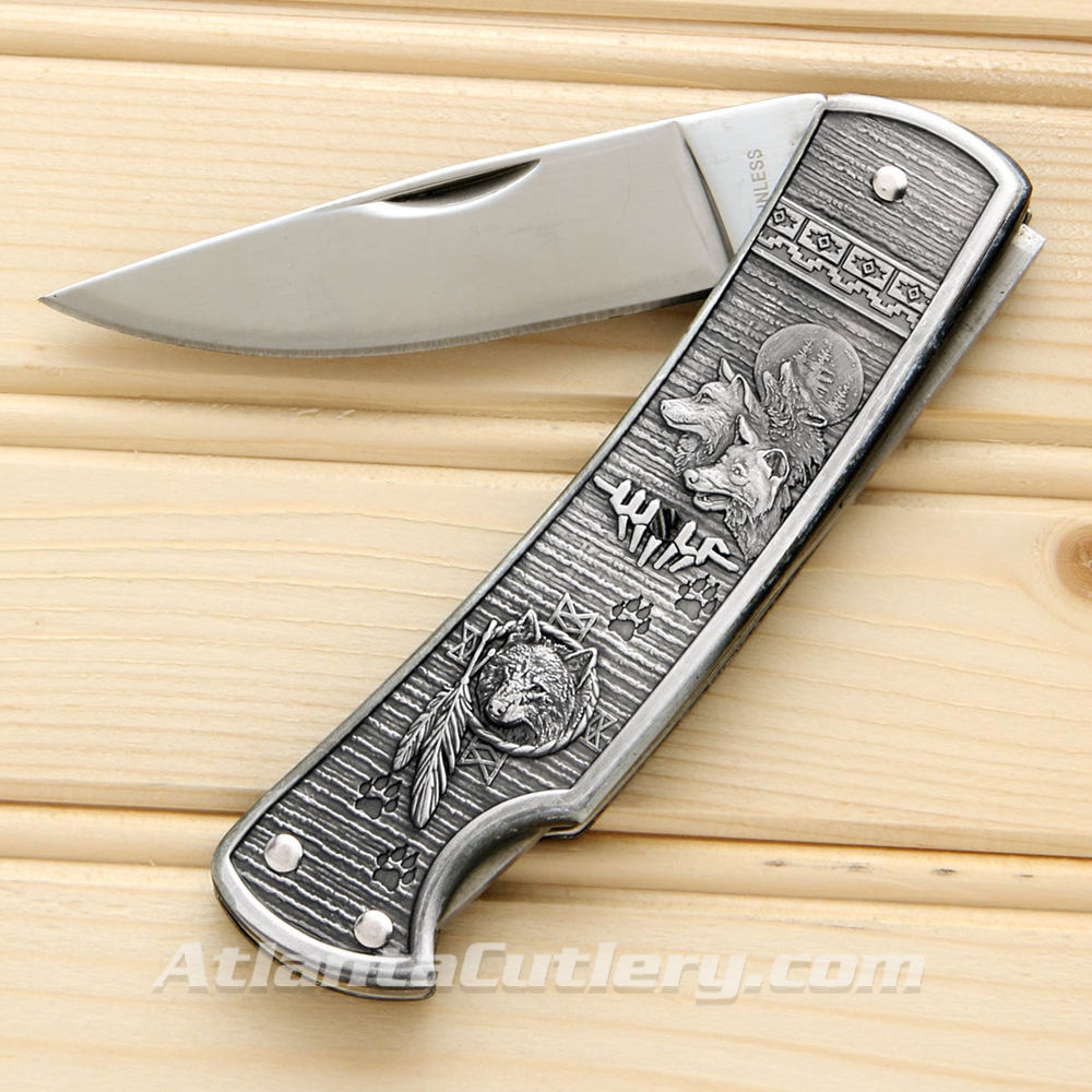 Picture of Animal Spirit Wolf Knife