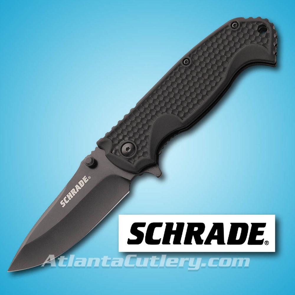 Picture of Schrade Drop Point Plain Edge Folder