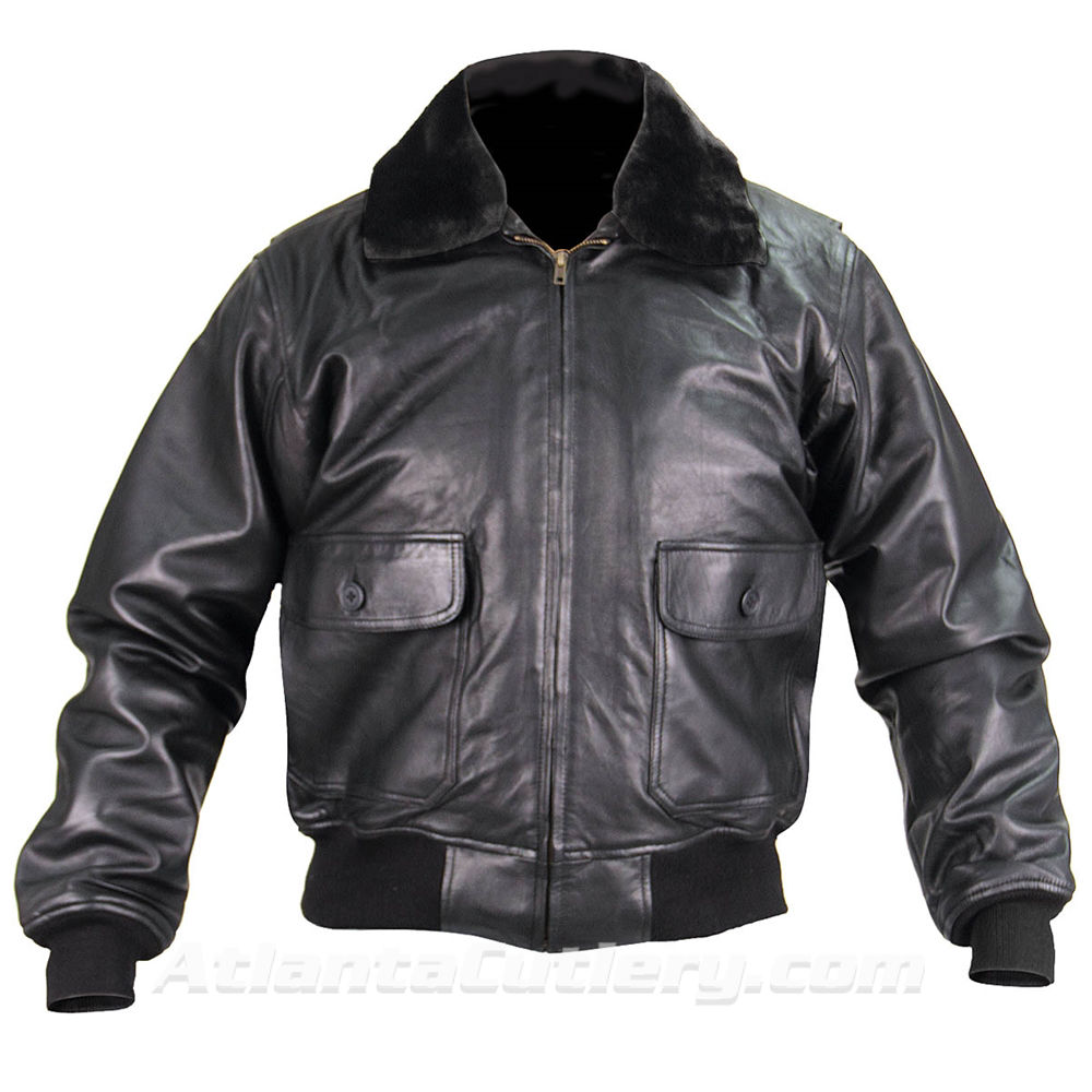 Picture of G-1 Leather Flight Jacket US Government Spec