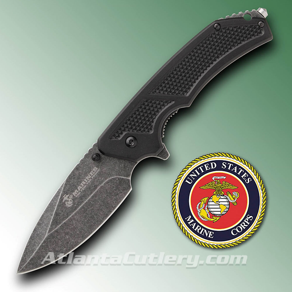 Picture of USMC Tactical Folder - Stone Wash