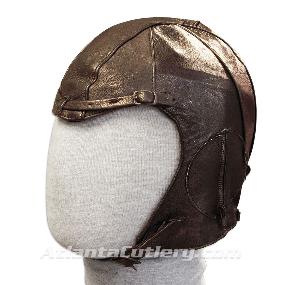 Picture of WWII Leather Pilots Hat