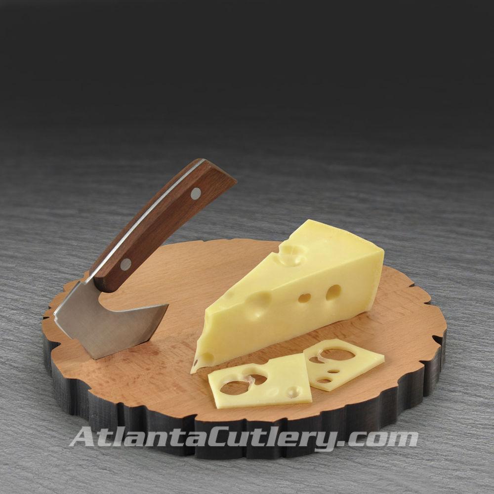 Cheese Board Log and Axe Set
