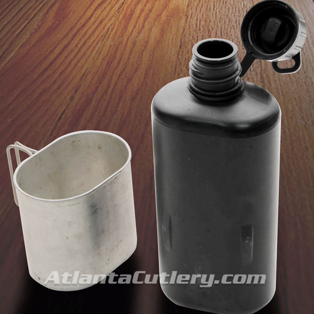 Picture of Swiss Surplus M84 Canteen with Cup