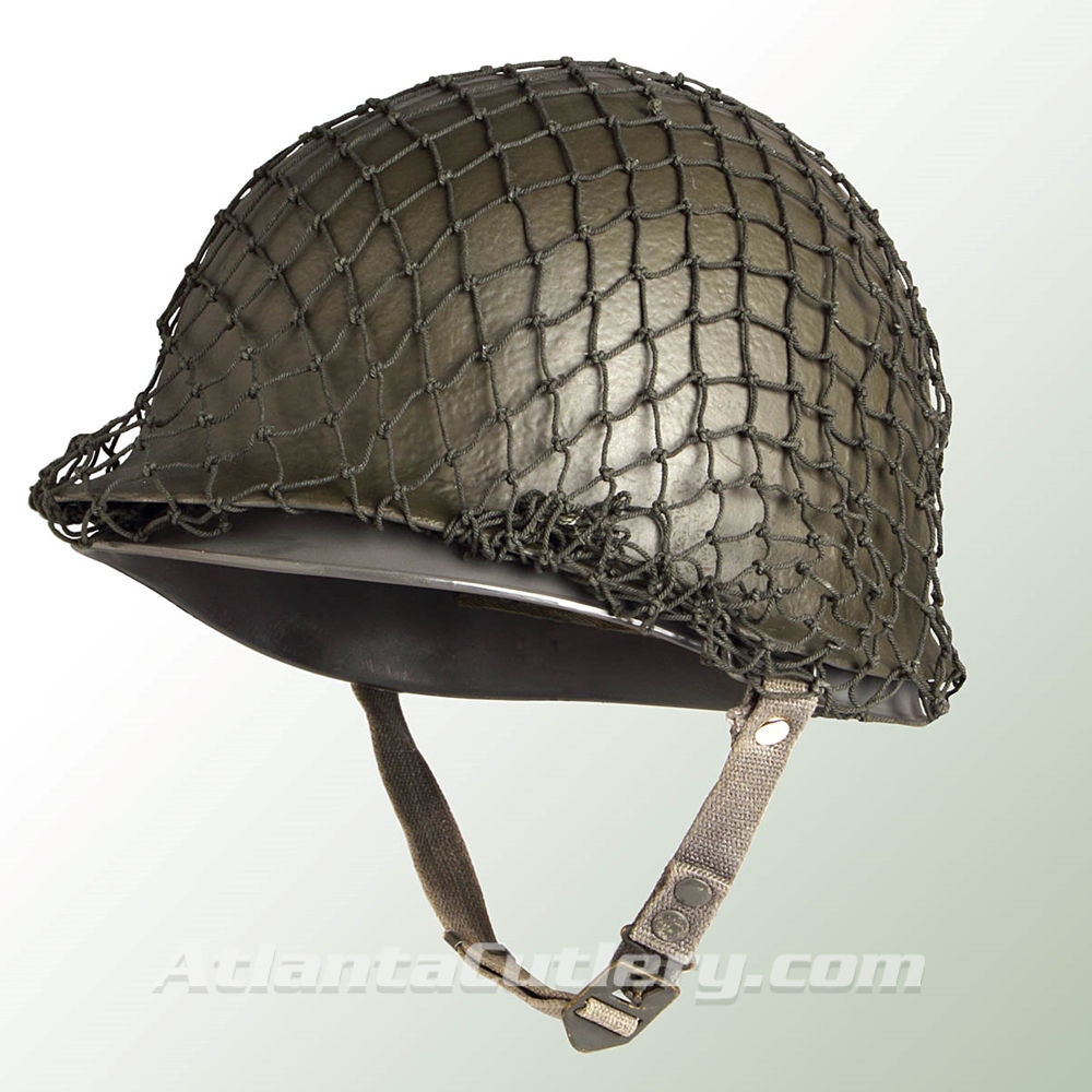Picture of M1 Style Steel Surplus Helmet with Net