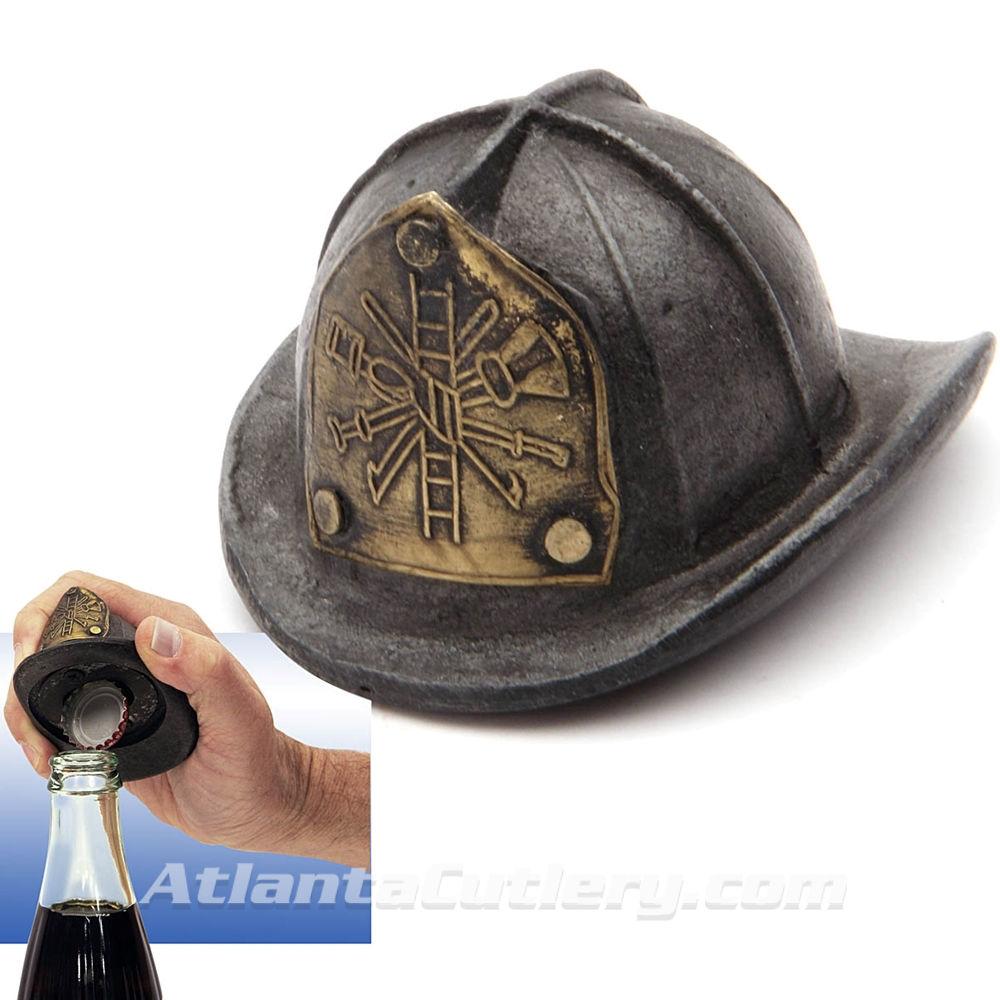 Fire Helmet Bottle Opener