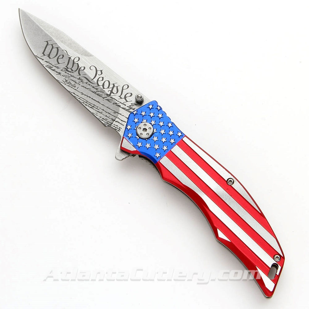 We The People Folding Knife - MTech
