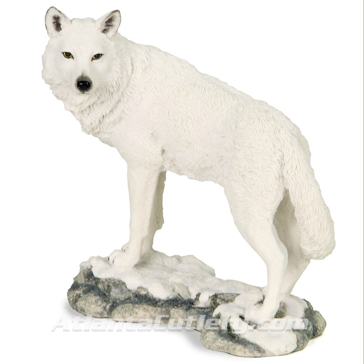 White Wolf of the North Statue