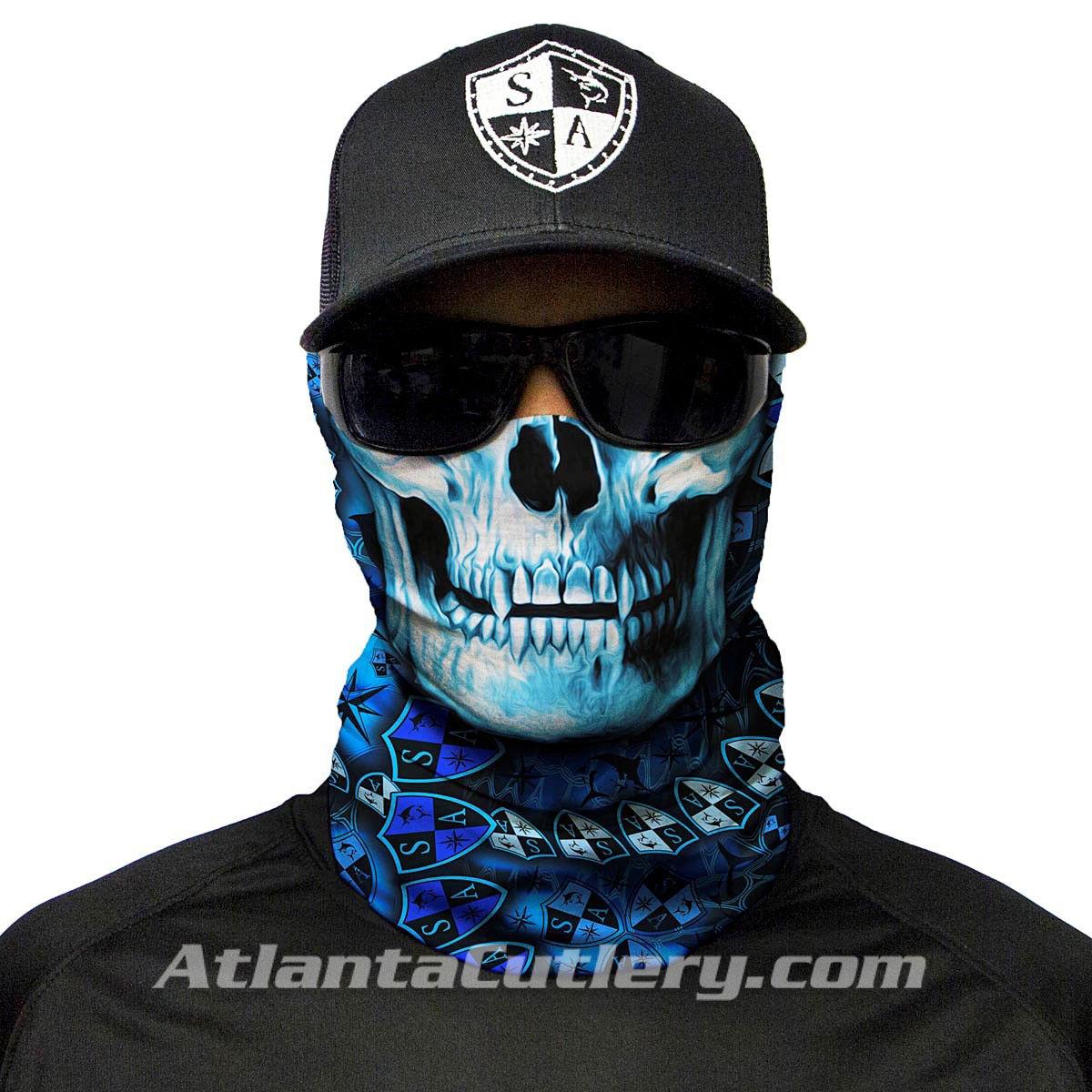 Picture of Multi Use Skull Face Shield Tubular Bandana