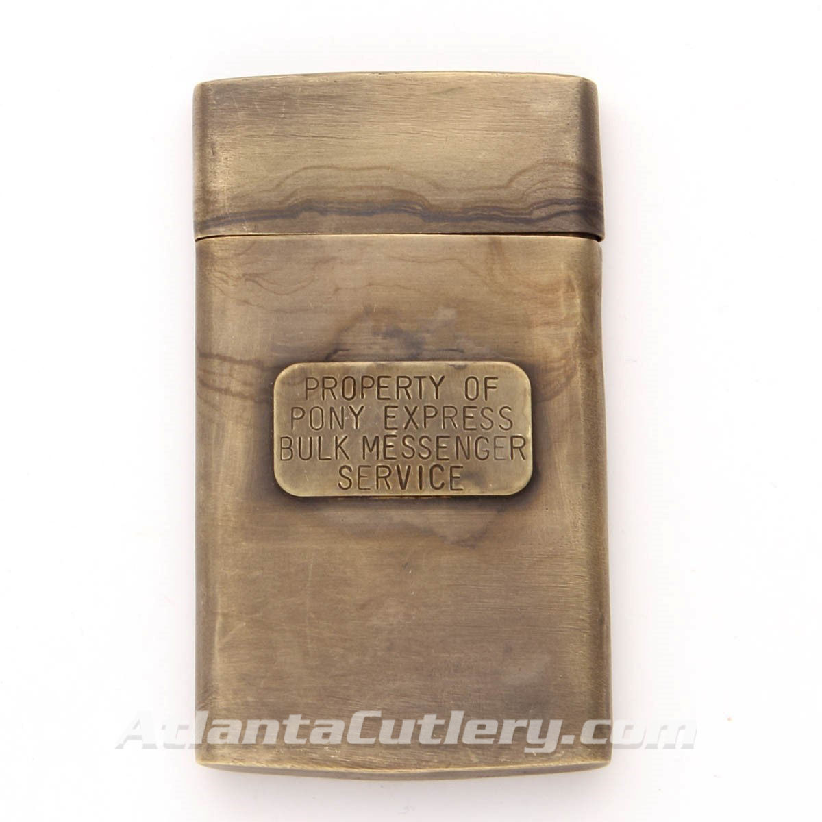 Brass Pony Express Map Case