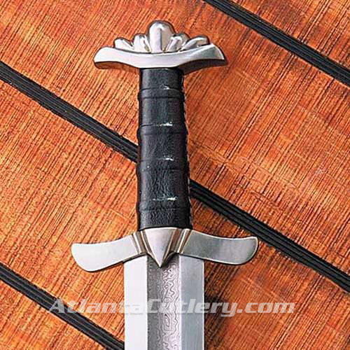 Picture of Damascus Viking Sword