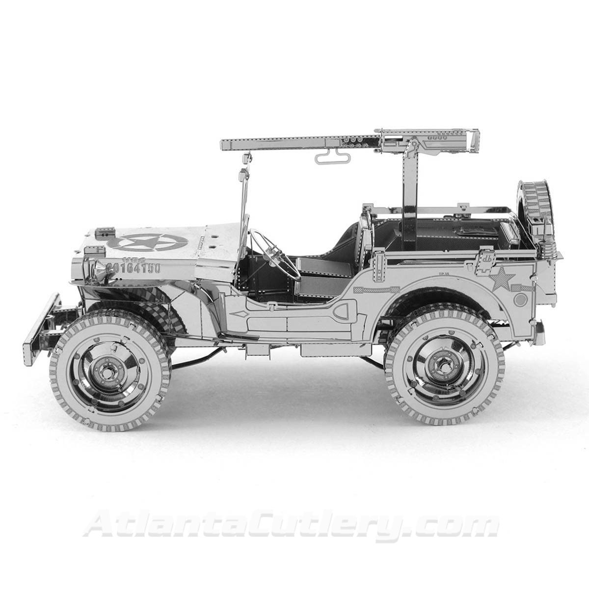 Willys Jeep Metal Model