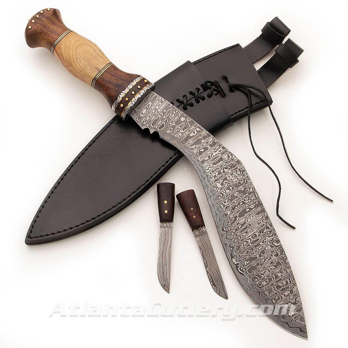 Picture of Custom Damascus Kukri