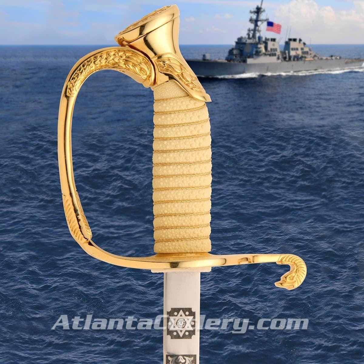 US Navy Officer's Dress Saber Hilt