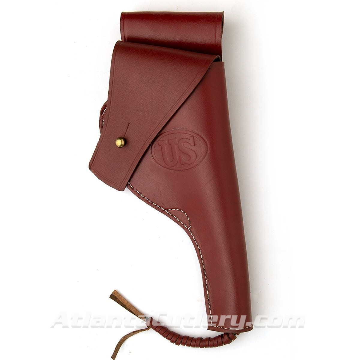 Brown Leather US WWI .45 1917 Revolver Holster
