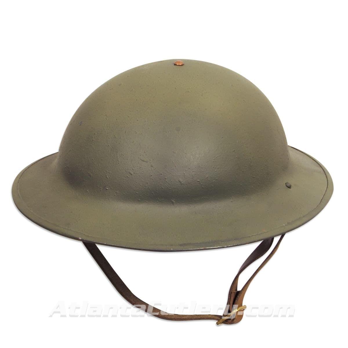 WWI Doughboy Replica 18 Gauge Steel Helmet