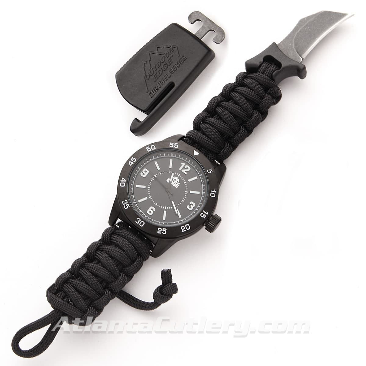 Outdoor Edge ParaClaw CQD Watch with Hawkbill Blade