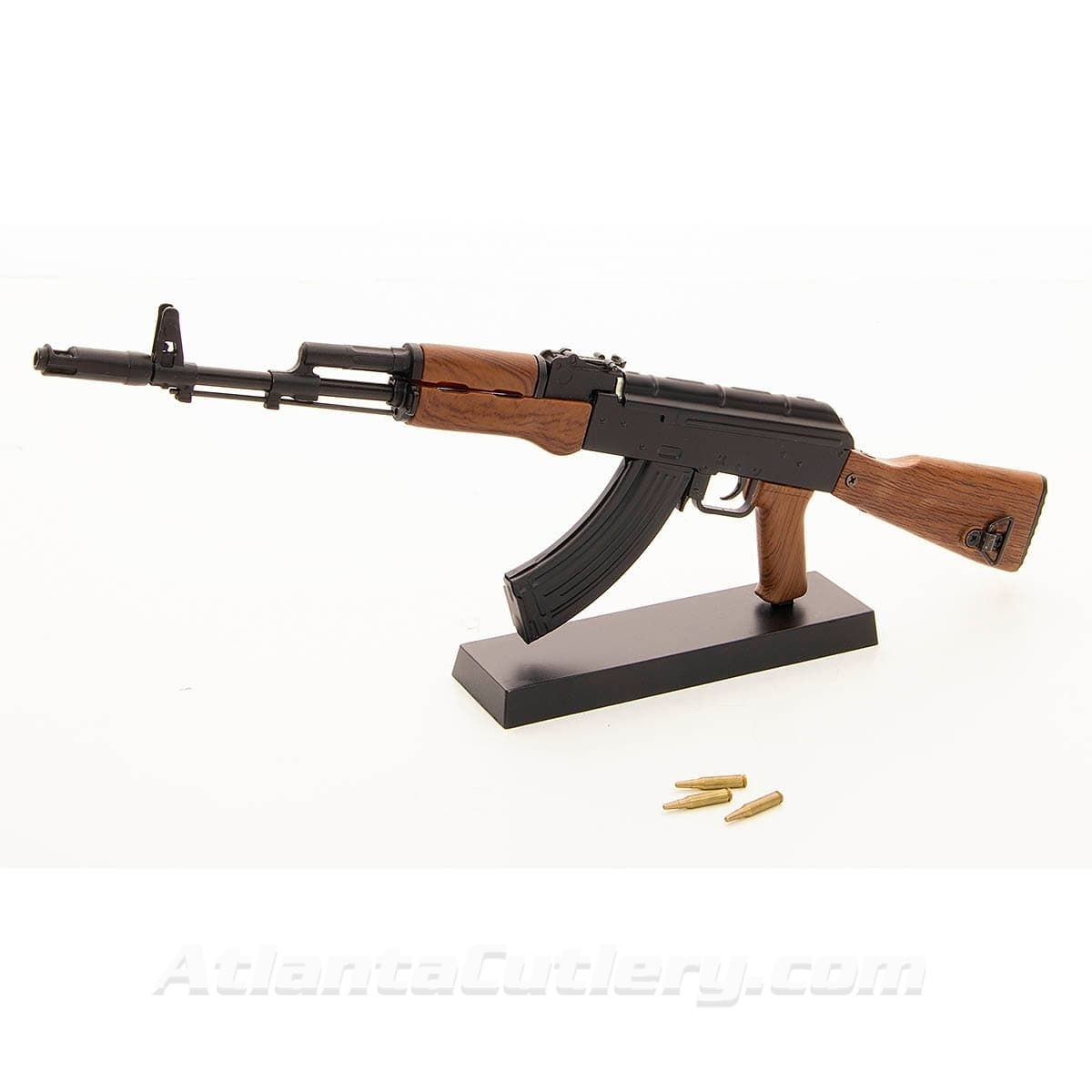Miniature AK-47 Toy Model Gun with Moving Parts