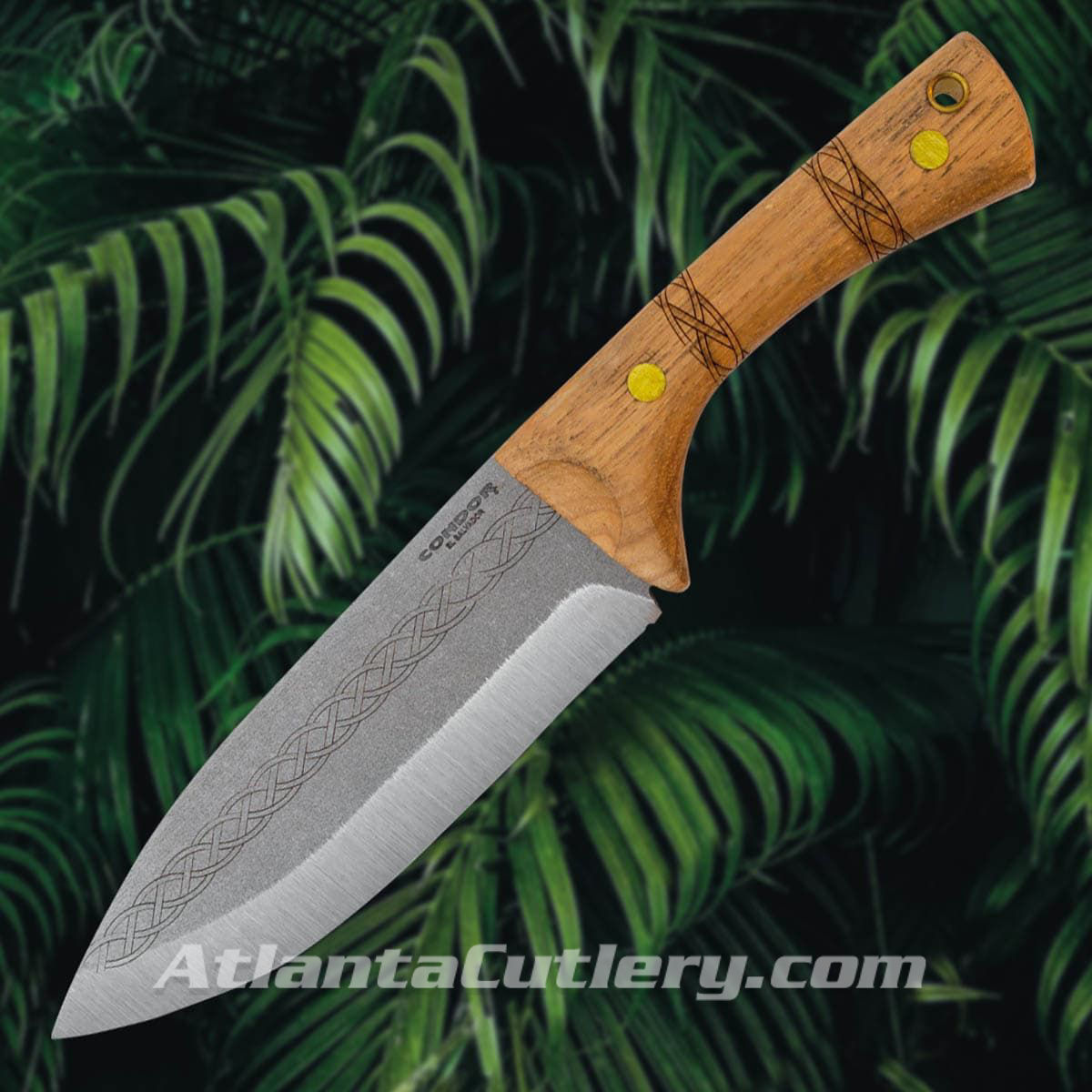 Condor Pictus Knife with Hickory Scales