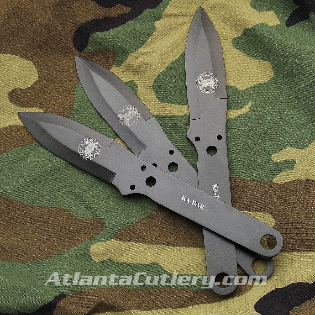 KA-BAR Set of 3 Throwing Knives