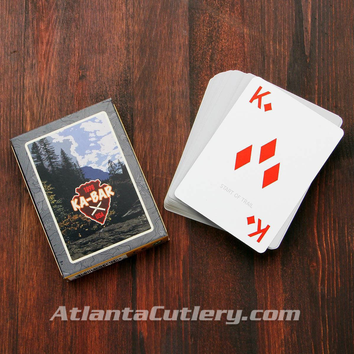 KA-BAR Water Resistant Trail Blaze Playing Cards