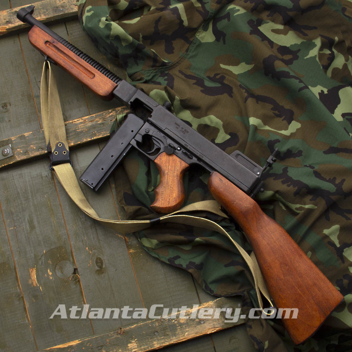 1928A1 SMG Military Model Dummy Gun