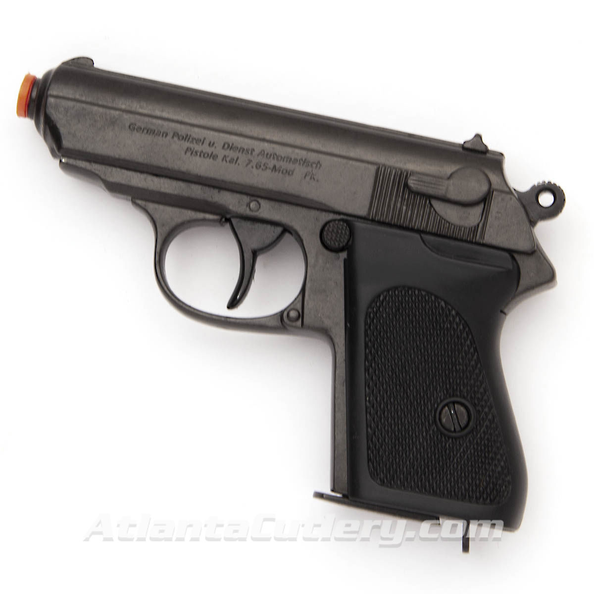 Full Size Replica Non Firing Walther PPK Made from blackened steel with polymer grips