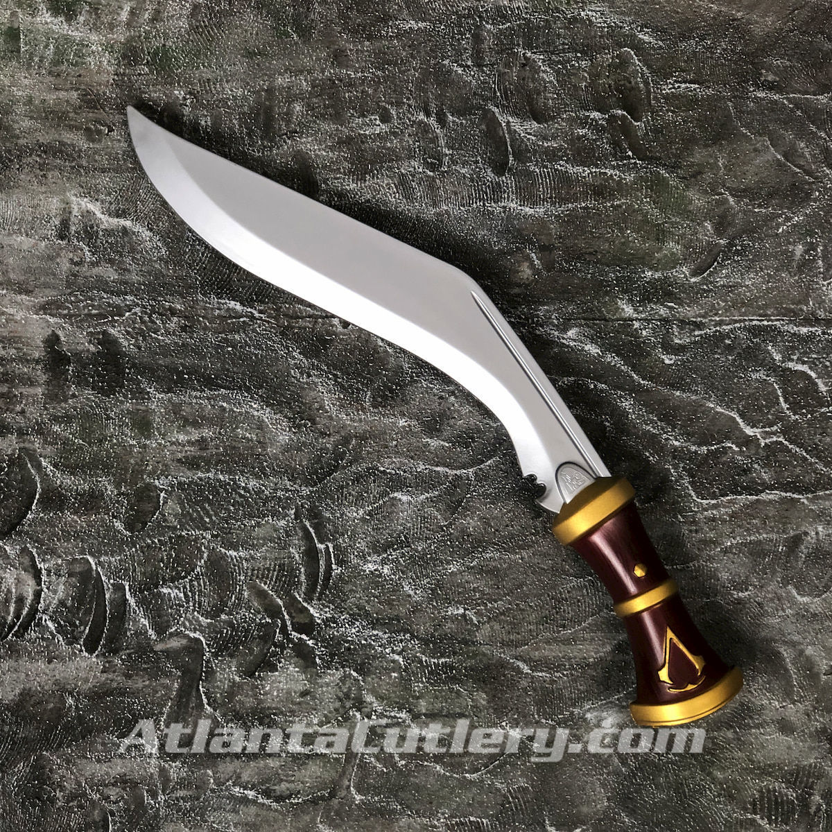 Officially licensed Assassin's Creed kukri looks real, but is made from dense latex foam