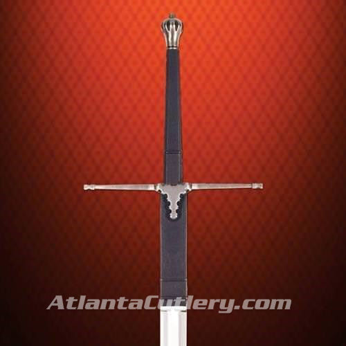 The Freedom Fighter Early Scottish Claymore - Leather wrapped grip and blade