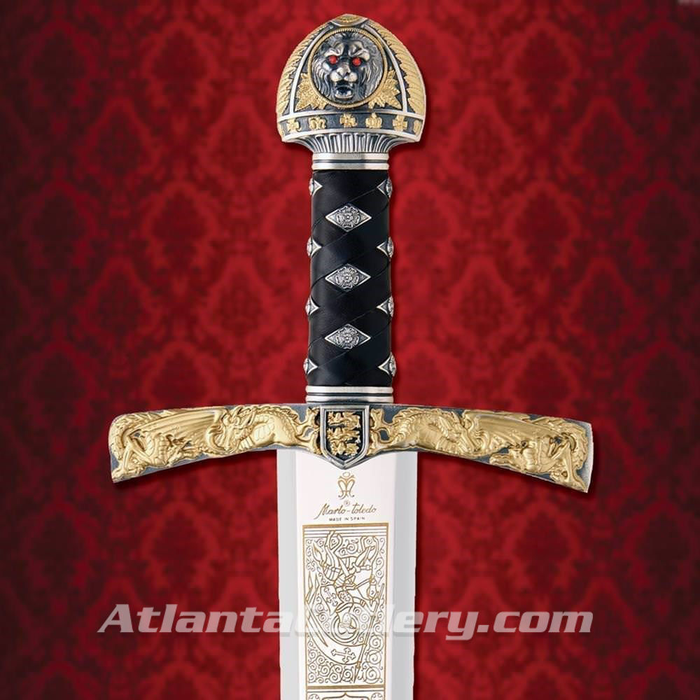 Richard the Lionheart Sword by Marto of Spain